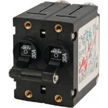 Circuit Breaker Magnetic 30A Black