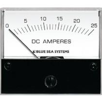 Ammeter Analog 0-25A DC