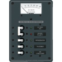 AC Circuit Breaker Main & 3 Position Panel