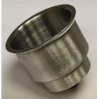 Stainless Steel Cupholder Dual Stack 3-5/8""